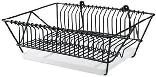 comprar comparacion IKEA FINTORP - Plato escurridor, negro, galvanizado - 37.5x29x13.5 cm