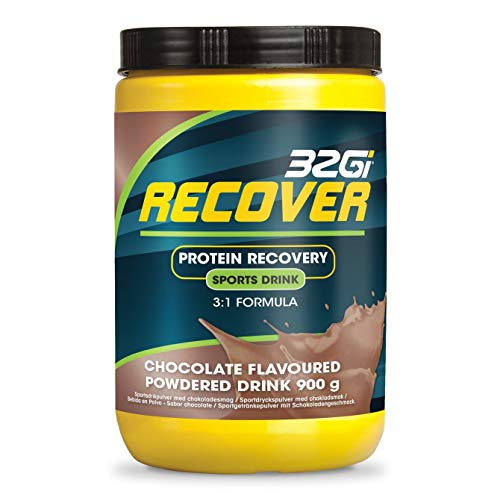 32Gi Recovery Drink BCAA Amino Post Workout - Glutamine Accelerator | Chocolate 900 Grams