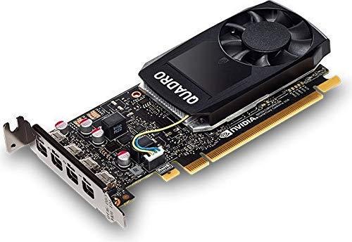 HP GRAFIKKARTE NVIDIA Quadro P10004GB–Grafikkarten (Quadro P1000, 4GB, GDDR5, 128Bit, 5120x 2880Pixel, PCI Express x163.0)
