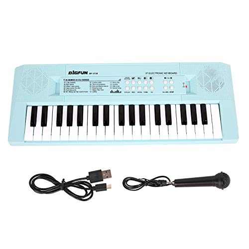 Shayson Kids Piano Keyboard 37 Keys Electronic Music Keyboard with Microphone...