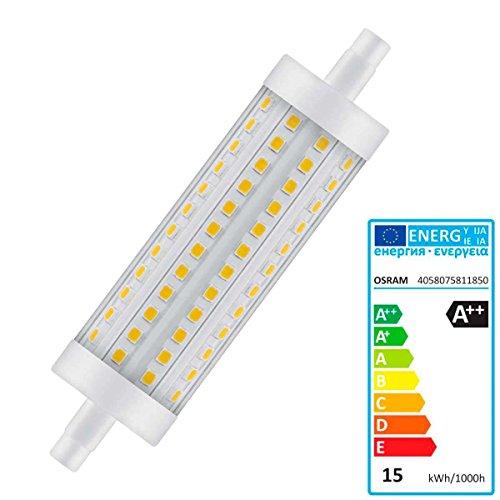 Osram Parathom DIM Line R7s LED-Lampe 15 W A++ - LED-Lampen (15 W, R7s, A++, 2000 lm, 25000 h, Warmweiß)