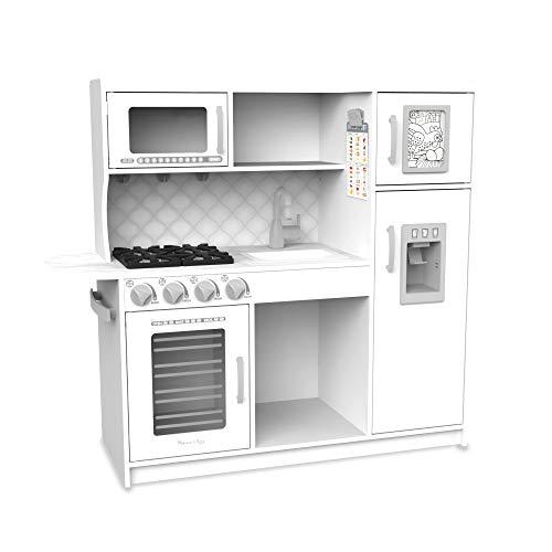 Melissa & Doug Wooden Chef?s Pretend Play Toy Kitchen - White