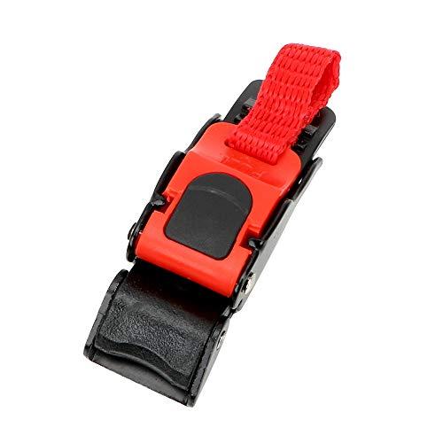 NOPNOG - Clip de correa para casco de moto, cierre rápido con cierre rápido, ajustable, casco de protección con hebilla