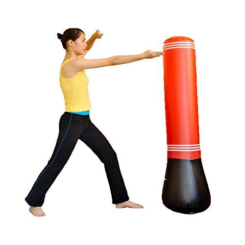 Aufblasbarer Boxsackständer Power Tower Boxsäcke Speed Boxing Training