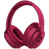 COWIN SE7 ヘッドホン ワイヤレス ノイズキャンセリング Bluetooth ヘッドフォン aptX 密閉型 高音質 内蔵マイク 30時間再生 ハンズフリー通話可能 (むらさき)
