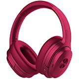 COWIN SE7 Active Noise Cancelling Headphones Bluetooth Headphones Wireless Headphones Over Ear with Microphone/Aptx, Comfortable Protein Earpads, 30 Hours Playtime for Travel/Work, Purple