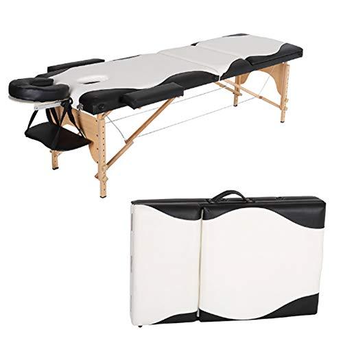 Tragbare Massageliegen Massagestuhl Massagetisch Mit Premium PU Leder Schaum Tattoo Couch Beauty Salon Therapie Tragfähigkeit 250 Kg Ouoy