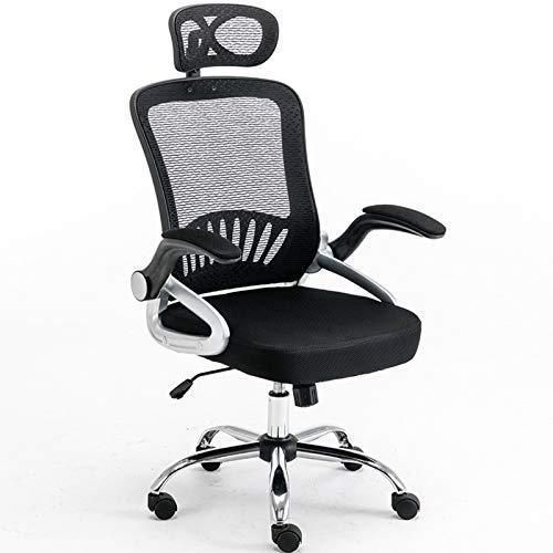 Brukade spela spel Gaming Office Chair kan lyfta och justera det bekväma ryggstödet andningsbara nätet för heminlärning, arbete och spel Högkvalitativ ergonomisk stol (anpassningsbar)