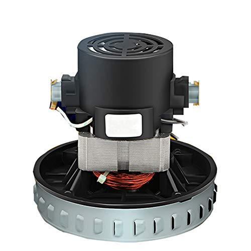 Sunsdew Motor de Aspiradora Universal 220V 1200W DiáMetro de 130 Mm para Karcher Midea Rowenta Piezas de VacíO Motor de Alambre de Cobre