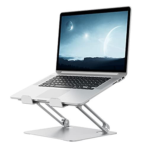 Supporto PC Portatile Dispositivi Sollevamento, Antiscivolo e Antigraffio su Entrambi Lati, Design a...