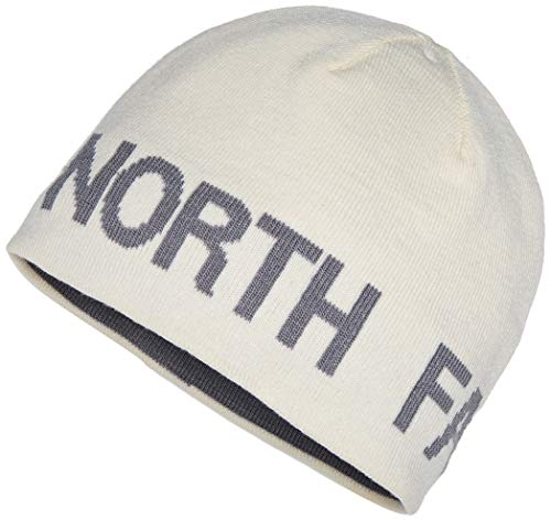 The North Face Rvsbl TNF Banner Gorro, Unisex Adulto, Vintwht/Mdgrey, OS
