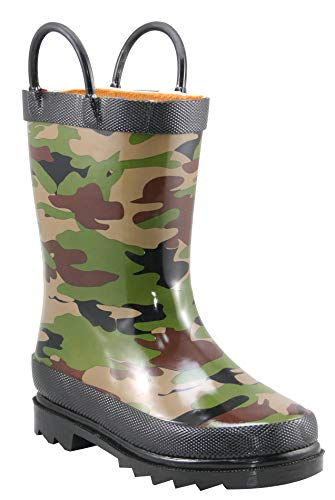 Infant Boy Army Boots