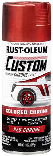 Rust-Oleum 340561 Automotive Spray Paint, 10 oz, Metallic Red