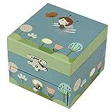 Trousselier - Elfen - Musikschmuckdose - Spieluhr - Ideales Geschenk für junge Mädchen - Musik Schwanensee - Farbe / Modell sortiert -