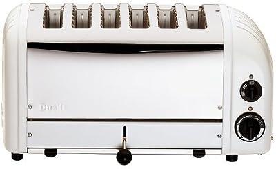 Dualit 6 Slice Toaster 60146 - White