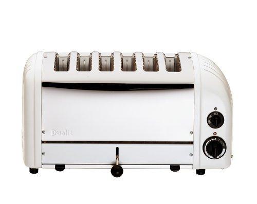 Dualit Toaster 60146 weiß 6 Schlitze