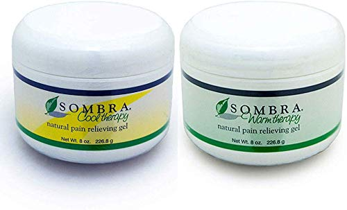 Sombra Warm & Cool Therapy Natural Pain Relieving Gels, 8 Oz Each