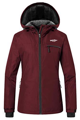 Wantdo Ski Fleece, Women's Mountain, Jacket Waterproof, Rain Coat, Windproof Snow