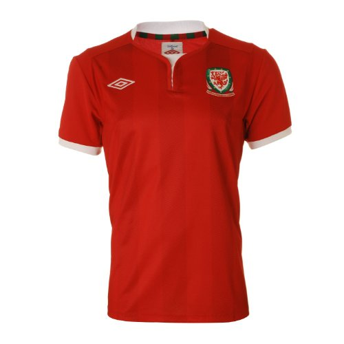 Gales Home para hombre camiseta de fútbol 2011/2012