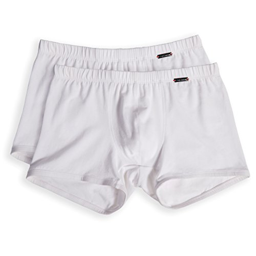 Olaf Benz Herren RED1010 Casualpants Shorts, Weiß (White 1000), Small (2er Pack)