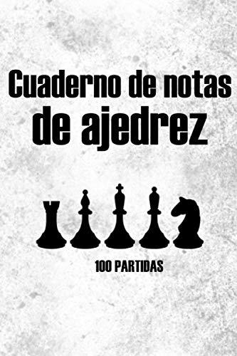 Cuaderno de ajedrez - 100 PARTIDAS: La pista se mueve | Analizar las estrategias | Hojas de puntaje de notación | Libro de registro de puntuación del ... para los amantes del ajedrez (50 movimientos)