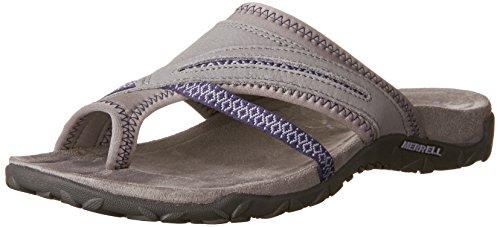 Merrell Women's Terran Post II Athletic Sandal, Sleet, 9 B(M) US