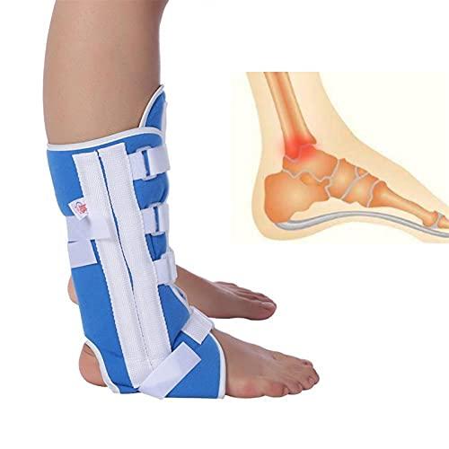 Soporte de soporte de rodilla Protección de articulación ajustable Correa de tobillo de tobinos de tobinos de la ortesis de las correas de las correas de las llaves de los pies admite la fract