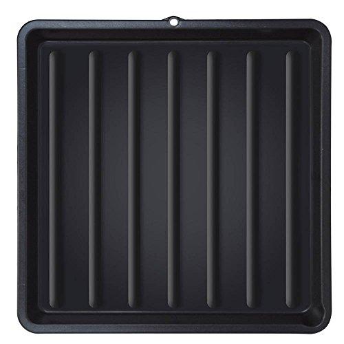 ToCis Big BBQ Grillrost Reinigungs Wanne aus Kunststoff 67 x 67 cm | für 60 cm Grillroste