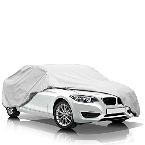 KAKIT Lightweight Car Cover Waterproof All Weather for Sedan, Polyester Sun UV...