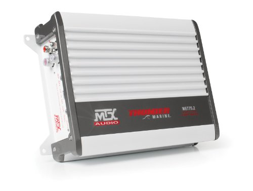 MTX Audio WET75.2 200W RMS 2-Channel Class A/B Marine Amplifier