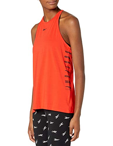 Reebok Les Mills Active chill Bodypump Tank, Instinct Red, S
