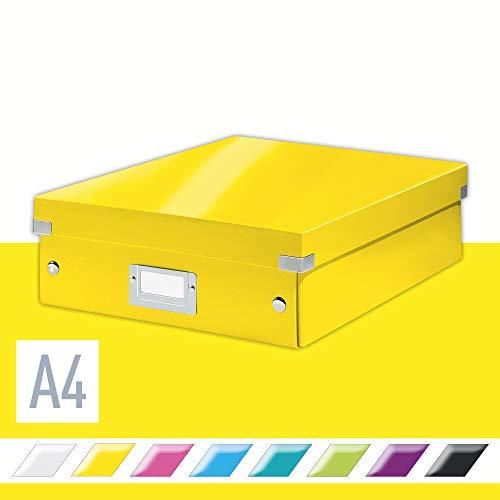 Leitz Click & Store Organisationsbox, Mittelgroß, gelb, 60580016