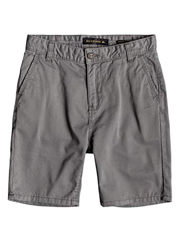 Quiksilver Jungen Everyday Chino Light Walk Shorts, Quiet Shade, 26/12