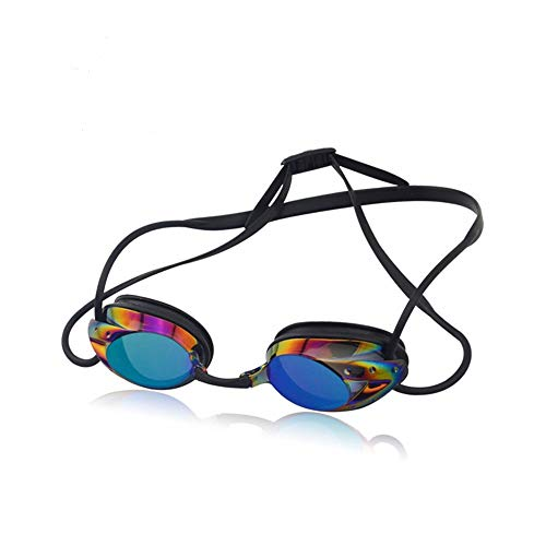 Gearu Sports Swim Goggles #1 Thrive 20 Mirrored Anti Fog Lens No Leaking Swimming Goggles for Women Men and Kids