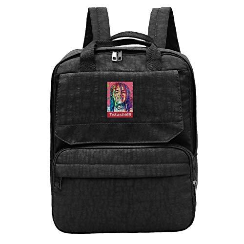 DJNGN Travel Backpack Tekashi69 Gym Hiking Daypack College Laptop and Notebook Bag for Women & Men