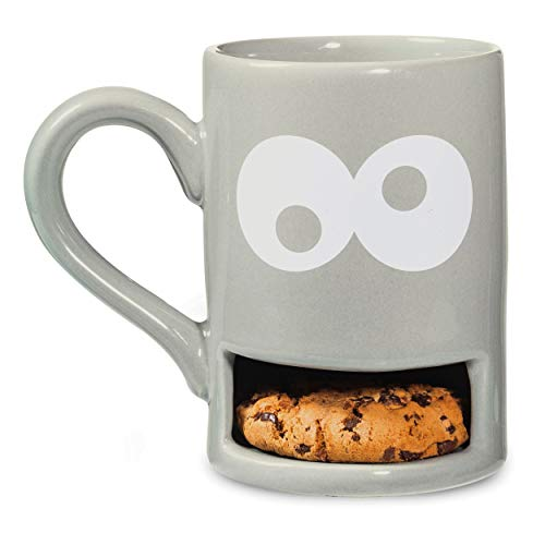 DONKEY Keksbecher Mug Monster, grau