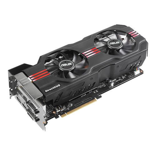 Asus NVIDIA GeForce GTX 680 Direct CU II Grafikkarte (PCIe 3.0, 2GB DDR5 Speicher, DVI, HDMI, DP)