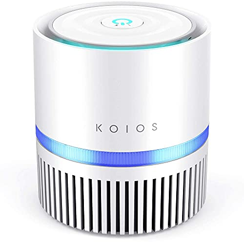 KOIOS Air Purifier for Home, True HEPA Air Filter for Bedroom...