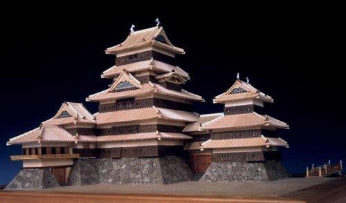 ウッディジョー 1/150 国宝 松本城 木製模型 組立キット