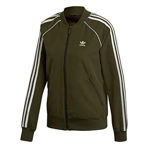 adidas SST TT Damen-Jacke, Grün (CARNOC)
