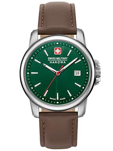 Swiss Military Hanowa Reloj Analógico para Unisex Adultos de Cuarzo con Correa en Acero Inoxidable 06-4230.7.04.006