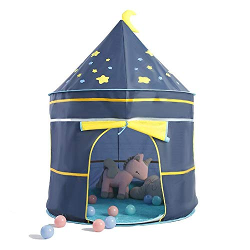 E T EASYTAO Casa de Campaña para Niños, Tienda de Campaña Infantil, Castillo de Tela Plegable y Transpirable para Uso Interior e Exterior