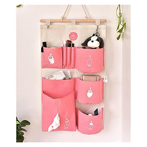 ONETOTOP Colgante de Bolsas de Almacenamiento para cunas de guardería Colgando Bolsas de Almacenamiento Decoraciones Pueden sostener pañales para bebés (Color : C)