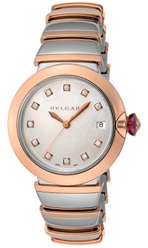 [ブルガリ] 腕時計 ルチェア ホワイト文字盤 ダイヤモンド LU36WSPGSPGD/11 レディース 並行輸入品 シルバー