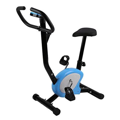 Binghotfire Indoor Sports - Cyclette Fitness, Ergometro, Cyclette, Regolabile in Altezza, con LCD, per Allenamento di Resistenza, Fino a 110 kg