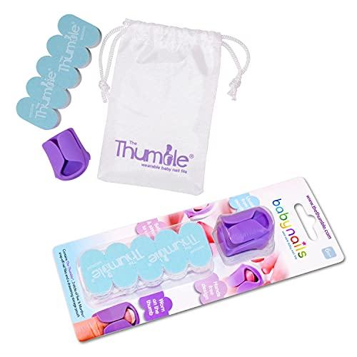 Baby Nails - La lima de uñas de bebé portátil - Set de cuidado de uñas para bebés - 6 meses +