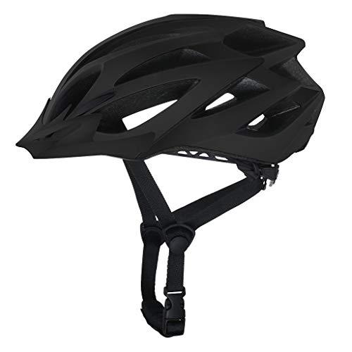 KariNao Unisex Fahrradhelm Sportreitschutzhelm Schwarz/Fahrradhelm/Schutzhelm/Fahrrad Helm/Skate Helm/Sicherer Fahrradhelm/Schutzausrüstung (Schwarz)