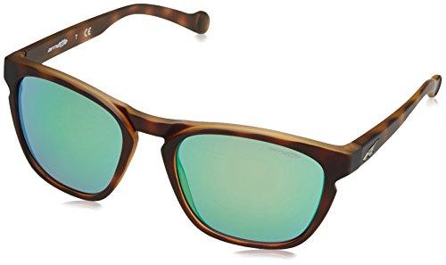 Arnette Groove gafas de sol, Fuzzy Havana, 55 para Hombre