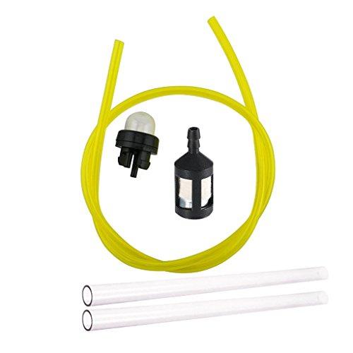 Filtro de aire de combustible para carburador de líneas de combustible para el kit de juntas de carburador