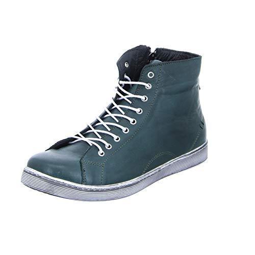 Andrea Conti Damen 0344595 Hohe Sneaker, Grün (Bottle 112), 42 EU